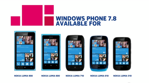 Nokia Lumia WP 7.8 Update