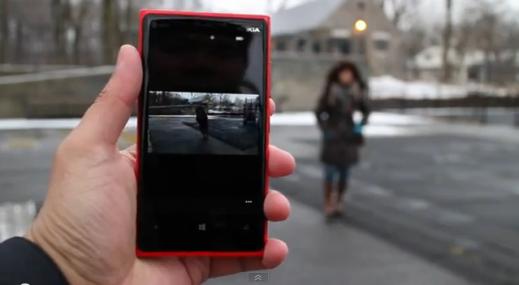 Microsoft Blink demoed on Nokia Lumia 920