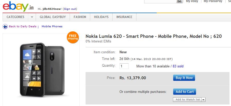 Cell Phone Parts for Nokia Lumia 620   eBay