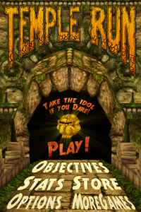 Temple Run on Windows Phone coming soon Mar 13