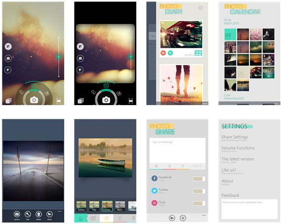 App Camera360, the popular Android app hits Windows Phone Store