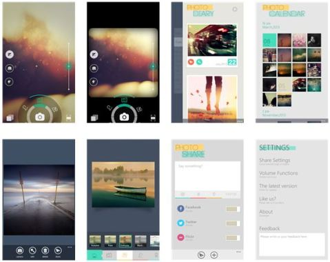 Camera360 for Windows Phone 8 Devices available