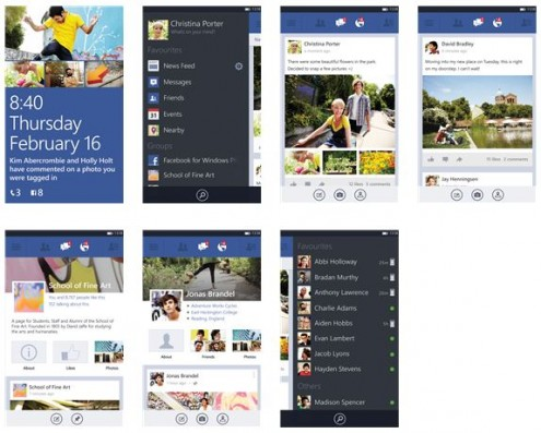 New Facebook Beta App v5.1.0.2 for Windows Phone 8 & 7 devices