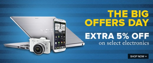 The Big Offers Day Flipkart - 5% on all Nokia Lumia Devices