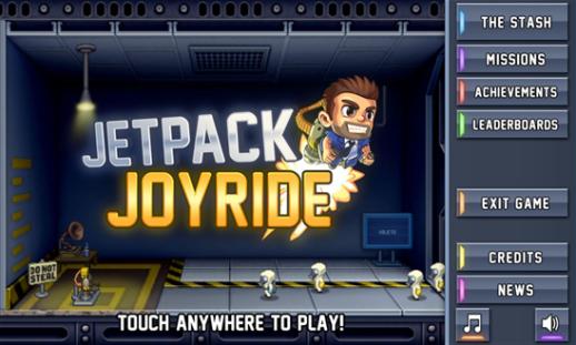 Download Jetpack Joyride for Nokia Lumia 520   NokiaTheOne