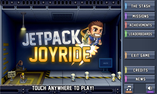 Games – HALFBRICK's 'Jetpack Joyride' hits Windows Phone 8