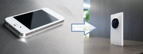 Apple iPhone 4S to Nokia Lumia 1020