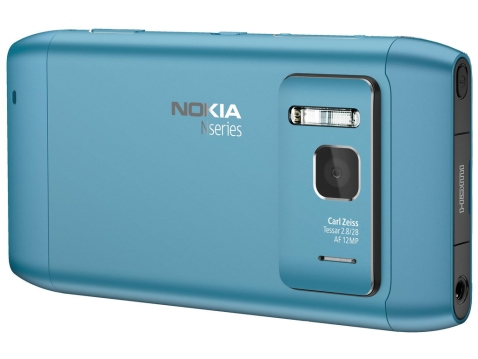 Nokia N8 in Blue - All aluminum body