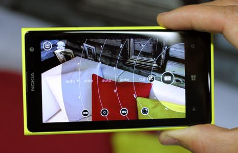 Nokia Pro Camera App on Lumia 1020