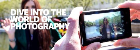 Nokia's dedicated page on Photography & Imaging