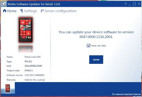 Nokia Lumia 920 Amber Update available on Nokia Servers