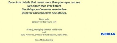 Nokia India 26th Sept press invite