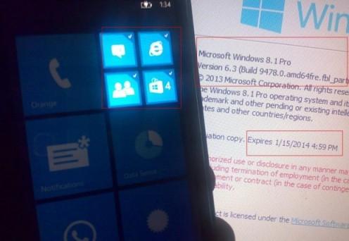 Windows Phone 8.1 Blue image leaks