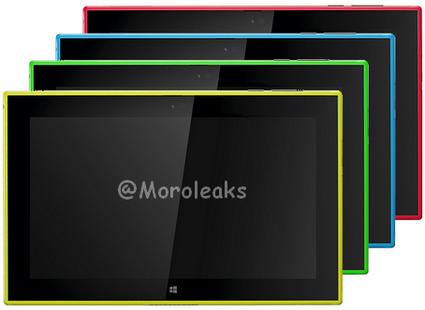 Nokia Lumia 2520 Yellow and Green