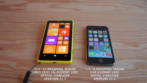 Camera shootout - Nokia Lumia 1020 vs Apple iPhone 5s