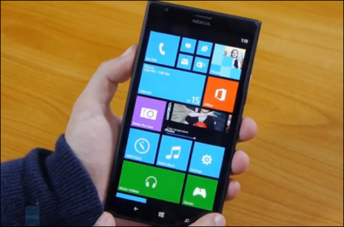 Nokia Lumia 1520 video hands on