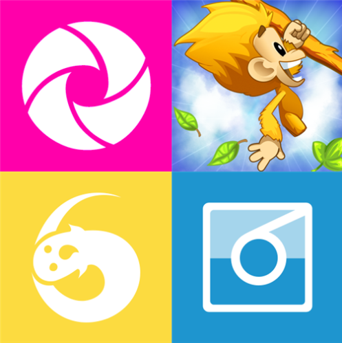 6tag, 6snap, PicHit.Me and Benji Bananas for Windows Phone
