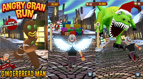 Angry Gran Run on Windows Phone 8