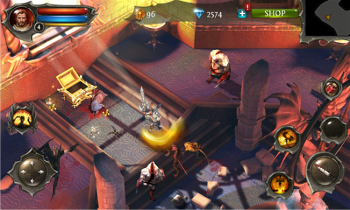 Dungeon Hunter 4 for Windows Phone 8