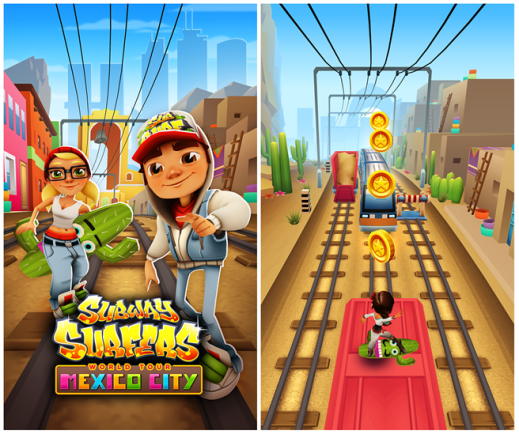 Subway Surfers Mexico for Windows Phone 8