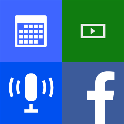 Calendar, Video, Podcasts, Games & Facebook for Windows Phone 8.1