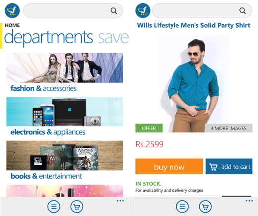 Flipkart for Windows Phone 8