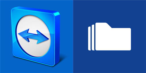 Team Viewer and App Folder for Windows Phone
