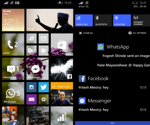 Windows Phone 8.1 Walkthrough Part 1
