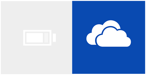 Battery Saver and OneDrive for Windows Phone 8.1