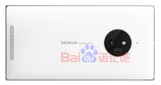 Lumia 830 render 13MP PureView