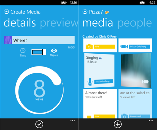 ... Unofficial SnapChat app, SwapChat now available in Windows Phone Store