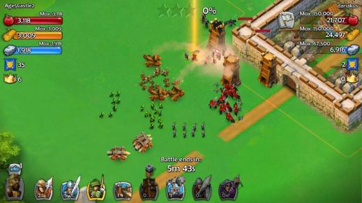 Age of Empires Castle Siege on Windows Phone 8