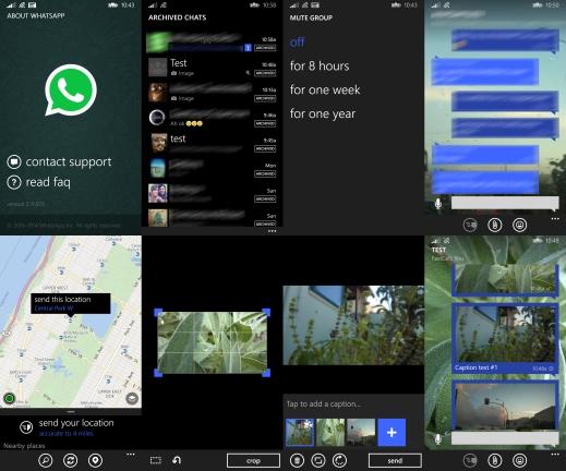 New WhatsApp version for Windows Phone 8