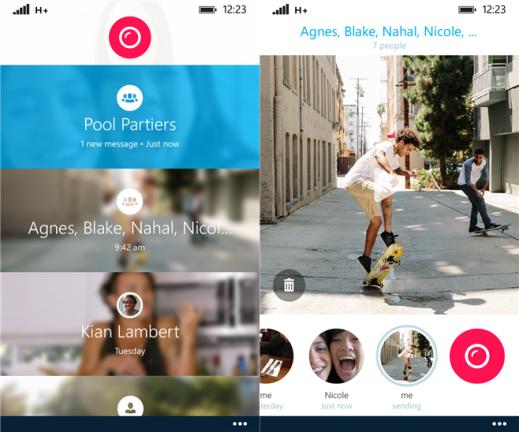 Skype Qik for Windows Phone 8.1