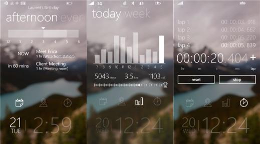 Tetra Lockscreen for Windows Phone 8.1 new
