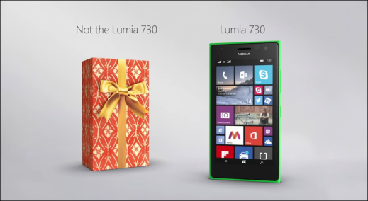 Nokia Lumia 730 Advertisement India
