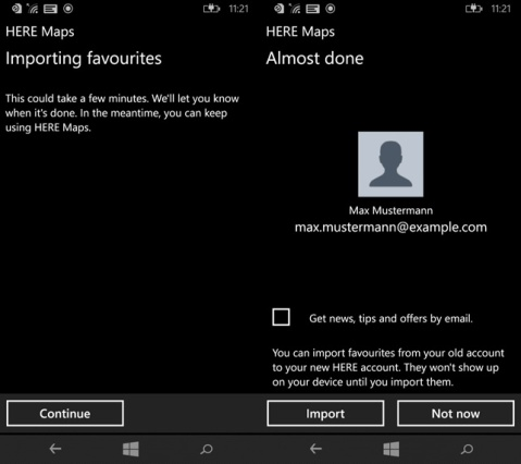 HERE Maps for Windows Phone image 2