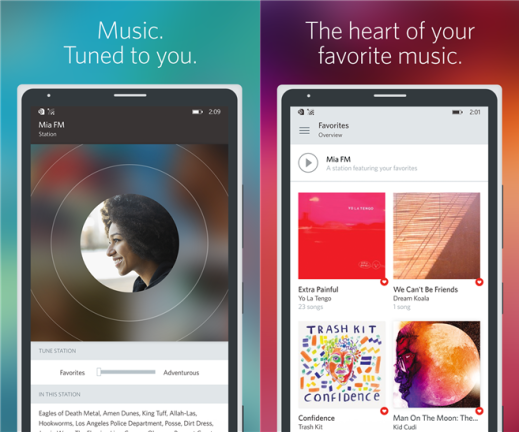 Rdio for Windows Phone image 3