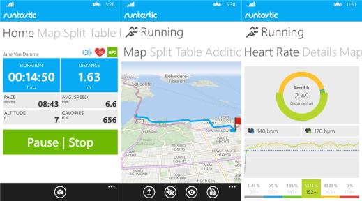 Runstatic PRO for Windows Phone image 4