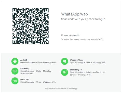 Whatsapp Web for Windows Phone image 4