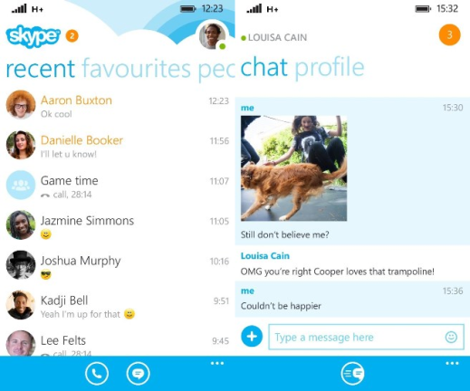 Skype for Windows Phone image 6
