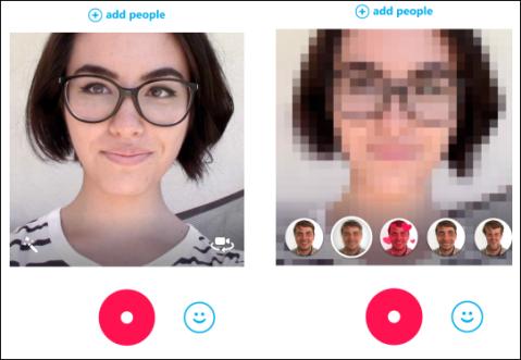 Skype Qik 8 new effects