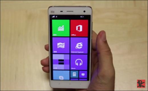 Xiaomi MI4 with Windows 10